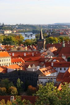 Free Prague Castle Saint Vitus Cathedral Stock Images - 26819024