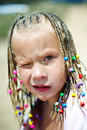 Free Portrait Of A Girl With Pigtails Stock Photos - 26824843