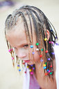 Free Portrait Of A Girl With Pigtails Stock Photo - 26824870