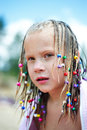 Free Portrait Of A Girl With Pigtails Royalty Free Stock Photo - 26824895