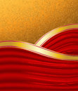 Free Gold And Red Background Stock Photography - 26825522