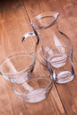Free Empty Clean Glassware Royalty Free Stock Images - 26826909