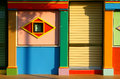 Free Colorful Graphic Facade Of Shophouse At Little Ind Royalty Free Stock Images - 26828389