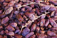 Free Dried Date Fruits Royalty Free Stock Photo - 26821185