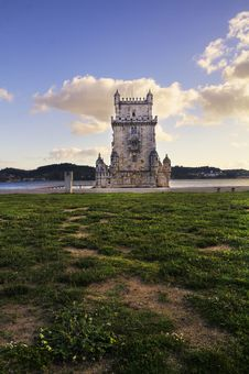 Tower Of Belem Stock Photos