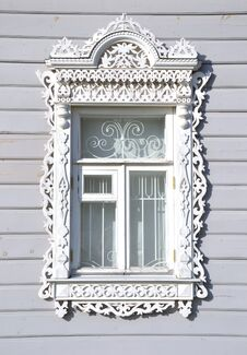 Free Carved Window Royalty Free Stock Photography - 26824277