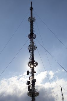 Free Telecommunication Tower Stock Images - 26824854