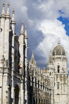 Free Mosteiro Dos Jeronimos Monument Stock Photography - 26824872