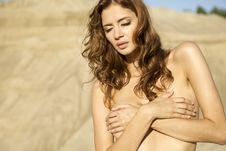 Free Topless Girl Stock Photo - 26825510