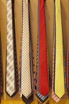 Free Ties Royalty Free Stock Photos - 26825628