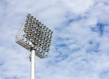 Spot-light Tower Royalty Free Stock Photos