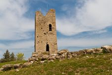Free Ruined Tower Stock Image - 26825881