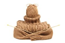 Free Sweater As A Doll. Stock Photography - 26825882