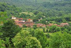 Free Ladines Village, Sobrescobio, Asturias, Spain Stock Image - 26826251