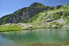 Free Alpine Lake. Ossola Valley. Italy Royalty Free Stock Images - 26826459