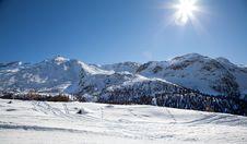 Free Beautiful Swiss Winter Landscape Stock Photo - 26826570