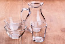 Free Empty Clean Glassware Stock Photos - 26826943