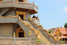 Free Staircase With Naka Leading To Room Of Pagoda Royalty Free Stock Images - 26827039