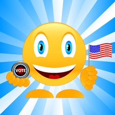 Free Smile On Elections Stock Photography - 26829432