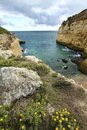 Free Natural Coastline Of Algarve Royalty Free Stock Photo - 26831155