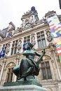 Free Hotel De Ville Building, Paris, France Stock Photos - 26833713