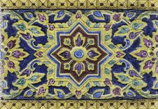 Free Thai Flower Vintage Pattern Background Royalty Free Stock Photos - 26830928