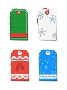 Free Christmas Labels Stock Photo - 26831940