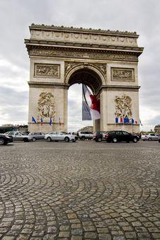 Arc Of Triumph Royalty Free Stock Photos