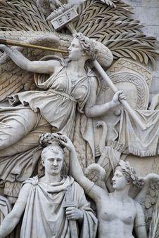 Le Depart De 1792 &x28;La Marseillaise&x29; Stock Photo