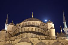 Free Blue Mosque Stock Image - 26833581