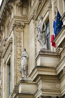 Tribunal De Commerce De Paris, France Stock Images