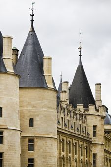 Historical Conciergerie Prison In Paris, France Royalty Free Stock Photo