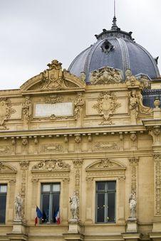 Tribunal De Commerce De Paris, France Royalty Free Stock Photography