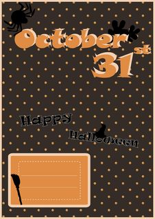 Free Happy Halloween Royalty Free Stock Images - 26838199