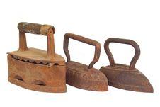 Free Three Old Iron Stock Photo - 26838940