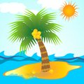 Free Island In Tropical Sea Royalty Free Stock Photos - 26840348