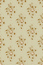 Free Floral Pattern In Deciduous Ovals Stock Images - 26845484