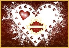 Free Invitation Valentine Luxury Card Stock Images - 26840954