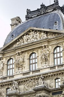 Free Museum Of The Louvre In Paris, France Royalty Free Stock Photos - 26842228
