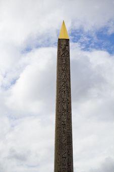 Luxor Obelisk Stock Image