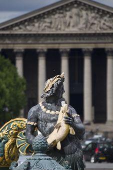 Free Beautiful Detail Of La Fontaine Des Fleuves Stock Photo - 26843210