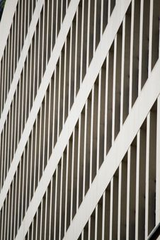 Free Partial View Of A Modern Skyscraper Royalty Free Stock Image - 26843566