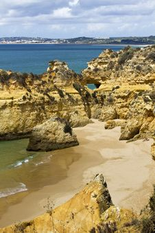 Free Wonderfull Portuguese Beach Stock Photos - 26844953