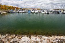 Free Marina With Recreation Boats Stock Photo - 26845440