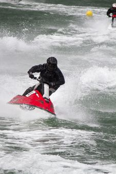 Free Jet Boat Racing Royalty Free Stock Photography - 26845647