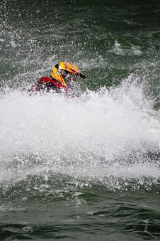 Free Jet Boat Racing Stock Images - 26845804