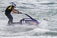 Free Jet Boat Racing Royalty Free Stock Photography - 26845957
