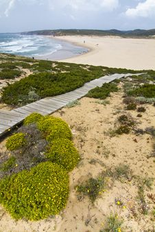 Free Beautiful Coastline Of Sagres Royalty Free Stock Photo - 26848295