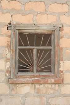 Free Old Broken Window Stock Image - 26849361