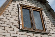 Window In An Old Building Royalty Free Stock Photo